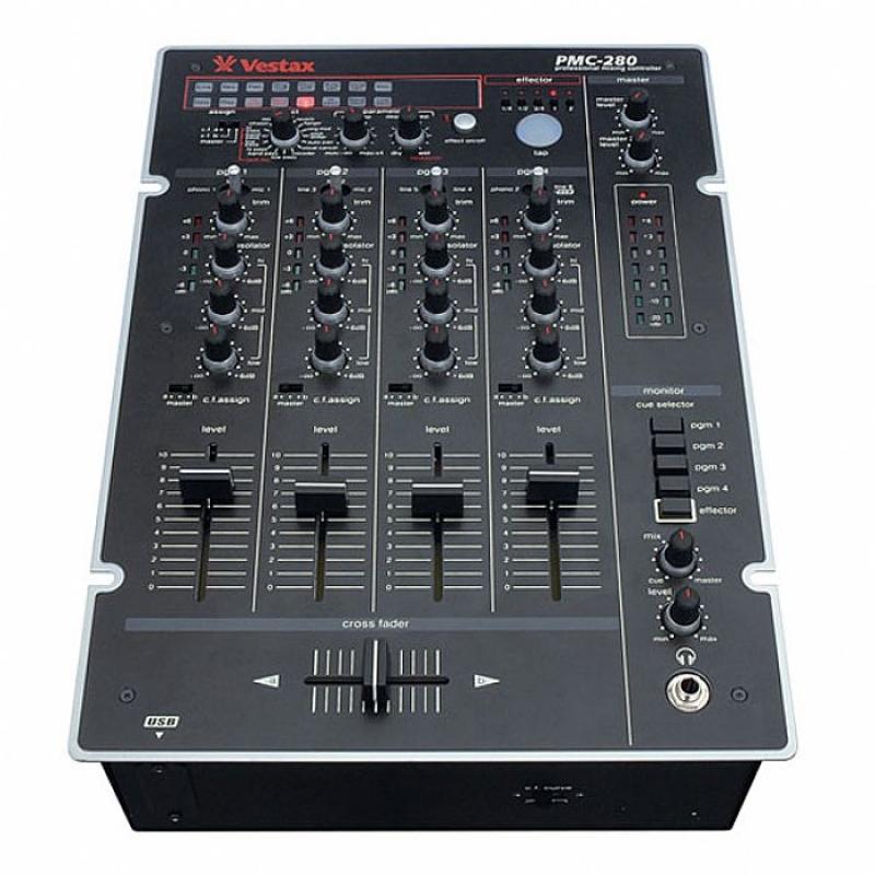 Mixer Vestax Pmc 280 SEMI NOVO NA CAIXA