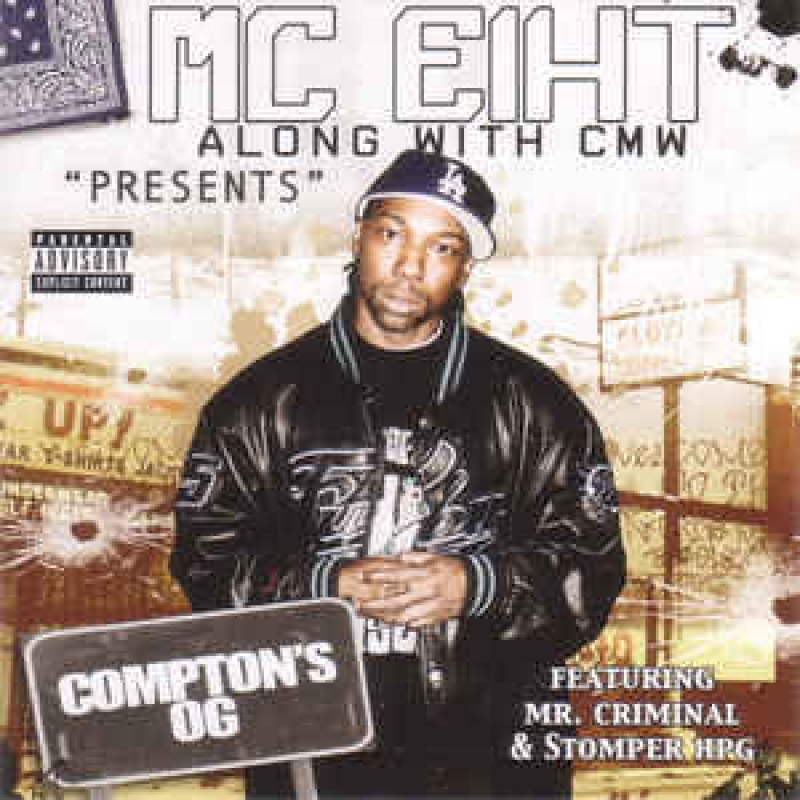 MC Eiht Along With CMW ‎– Presents Comptons OG (CD)