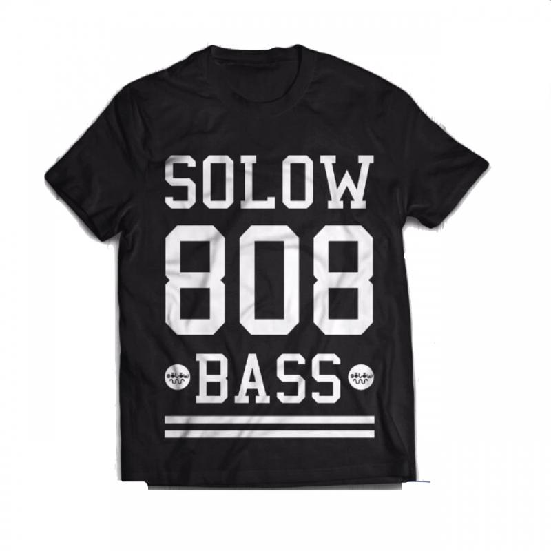 Camiseta solowBass 808