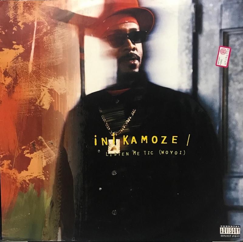 LP Ini Kamoze - Listen Me Tic ( Woyoi ) VINYL