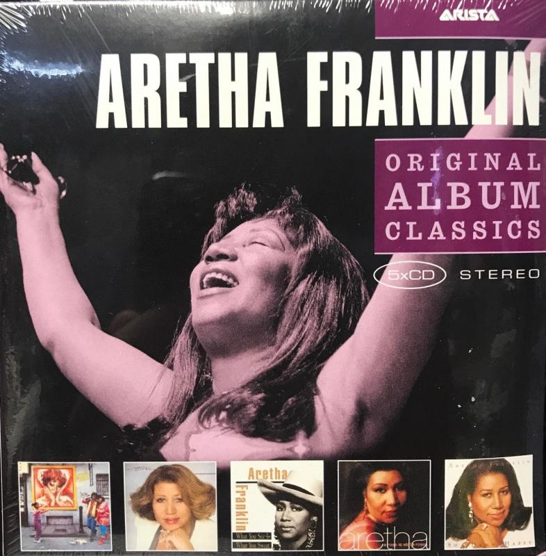 Aretha Franklin -  Original Album Classics 5 CDs