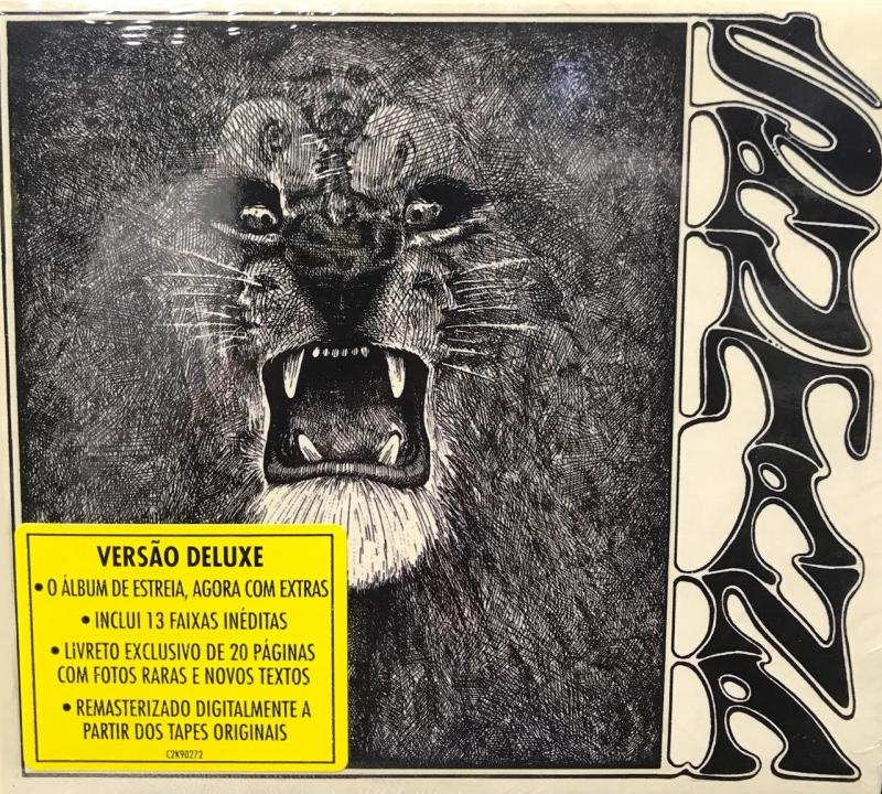 Santana 1969 Deluxe Remasterizado cd Duplo Novo De Fabrica