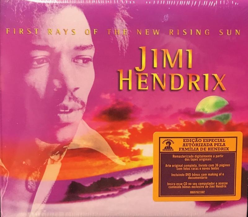 Jimi Hendrix - First Rays of the New Rising Sun ( CD + DVD )