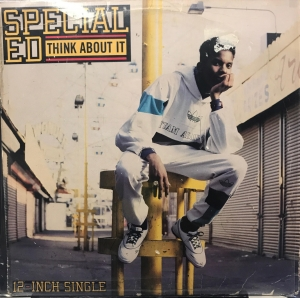 LP Special Ed - Think About It Vinil Single (Usado)