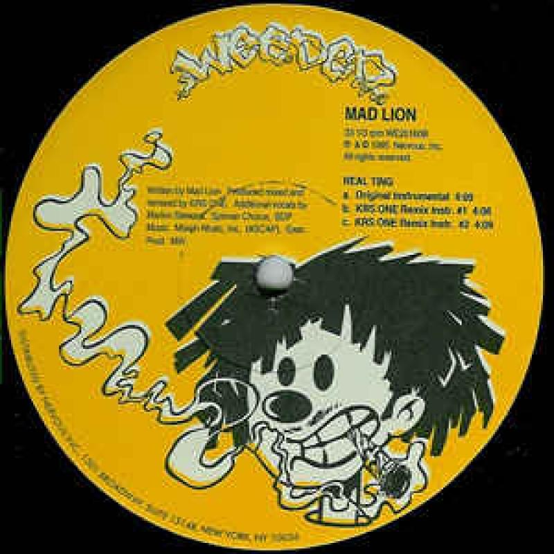 LP Mad Lion - Real Ting VINIL (usado)