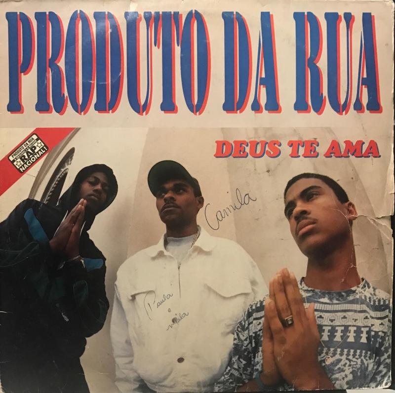 LP Produto Da Rua - Deus Te Ama VINYL (RAP NACIONAL)