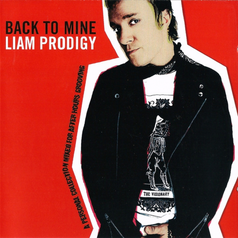 Liam Prodigy - Back To Mine (CD) IMPORTADO