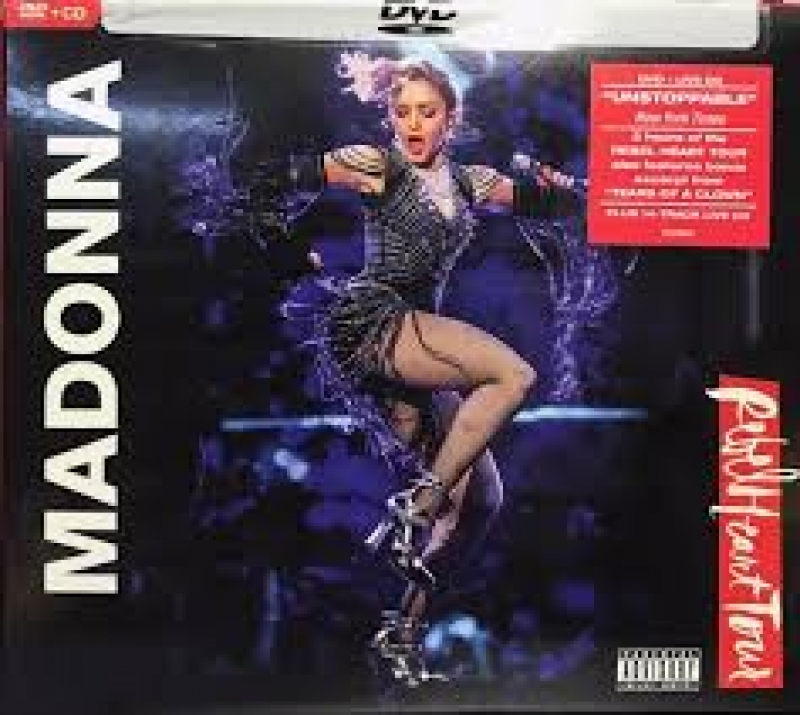 Madonna - Rebel Heart Tour ( DVD e CD Importado )