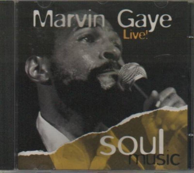 Marvin Gaye - Marvin Gaye Live! (CD)