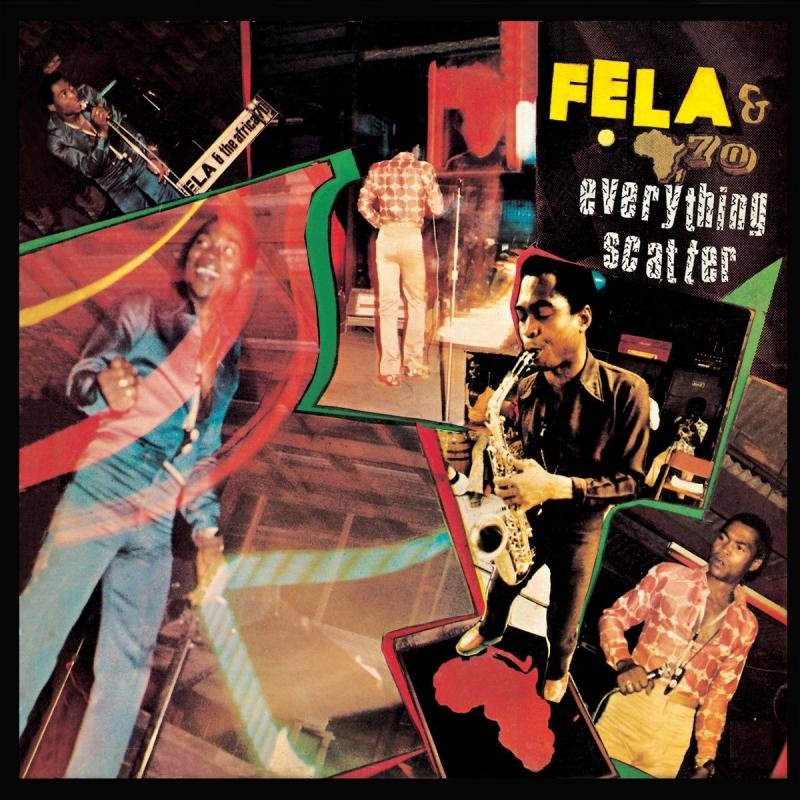 LP Fela - Everything Scatter IMPORTADO LACRADO
