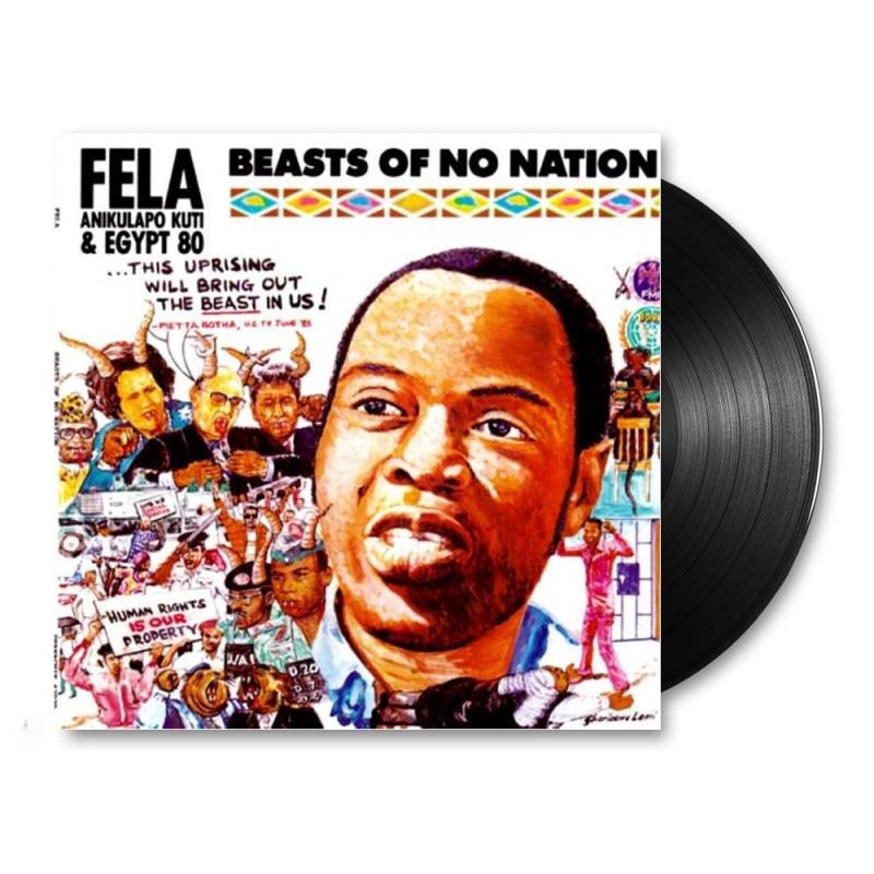 LP Fela Anikulapo-kuti & Egypt 80 Lp Beasts Of No Nation VINYL IMPORTADO LACRADO