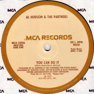 LP Al Hudson & The Partners - You Can Do It / I Dont Want You To Leave Me