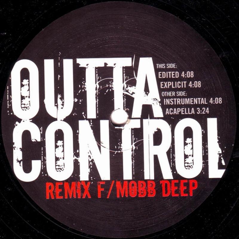 LP 50 Cent F Mobb Deep - Outta Control (Remix) VINYL IMPORTADO
