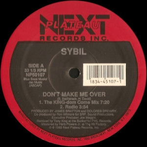 LP Sybil - Dont Make Me Over Falling In Love VINYL IMPORTADO
