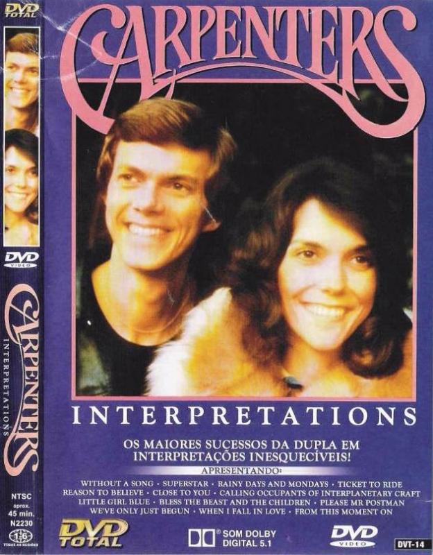Carpenters - Interpretations OS MAIORES SUCESSOS DA DUPLA  (DVD)