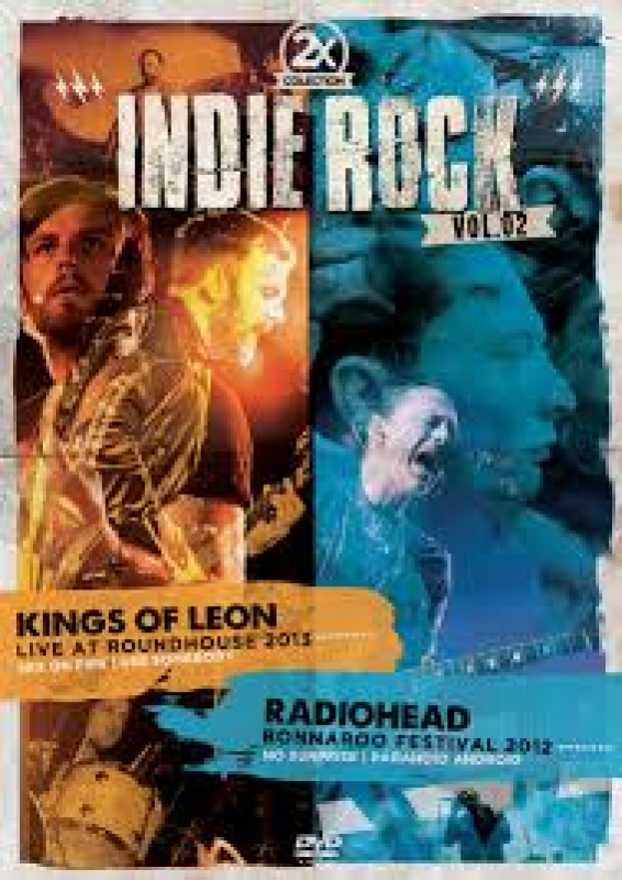 Collection 2X - Indie Rock Vol. 02 - Kings Of Leon e Radiohead - DVD