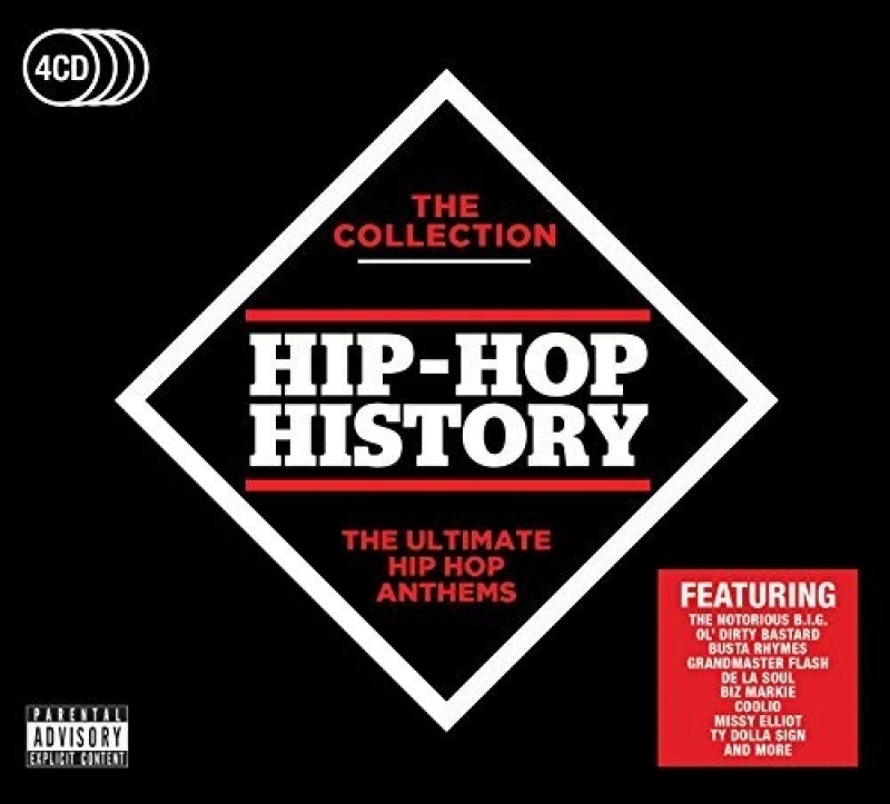 Hip-Hop History - The Collection  Various 4CDS (IMPORTADO)