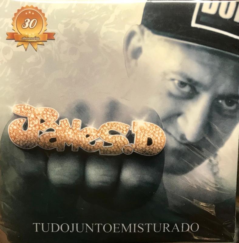 James D - Tudo Junto E Misturado CD