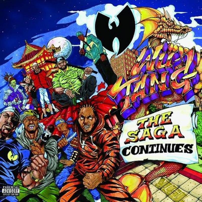 CD Wu Tang - The Saga Continues (CD) IMPORTADO