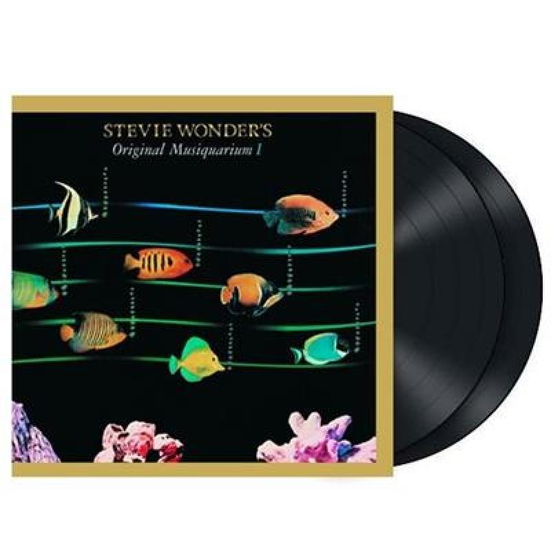 LP Stevie Wonder - Stevie Wonders Original Musiquarium I VINYL GATEFOLD DUPLO IMPORTADO (LACRADO)