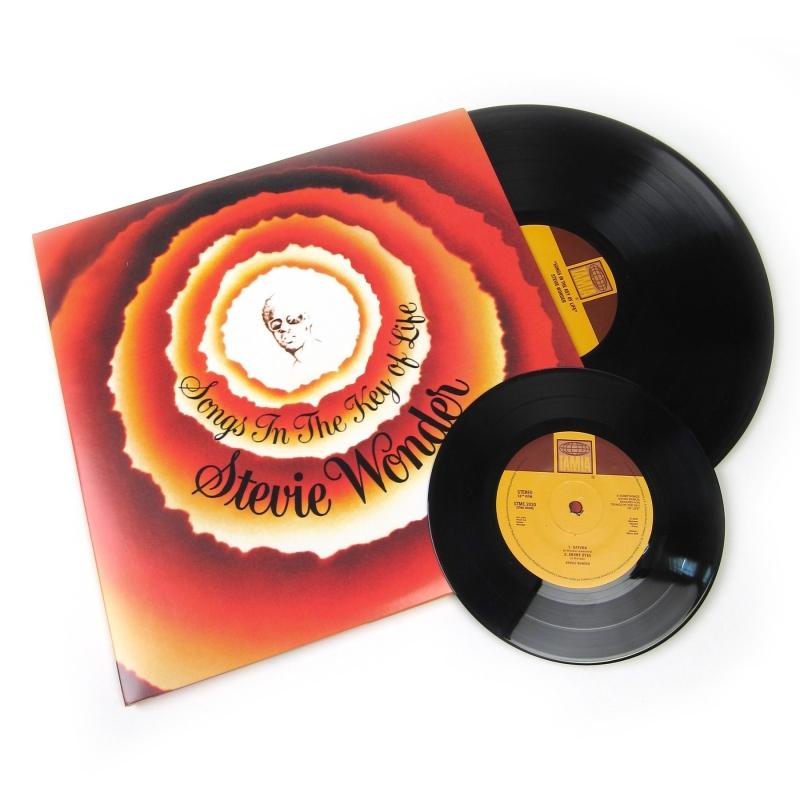 LP Stevie Wonder - Songs In the Key of Life (VINYL)  2XLP  7 POL (LACRADO)