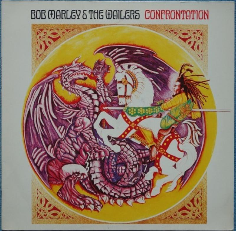LP Bob Marley The Wailers - Confrontation VINYL IMPORTADO (LACRADO)