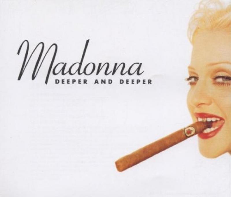 LP Madonna - Deeper And Deeper VINYL IMPORTADO (semi novo)