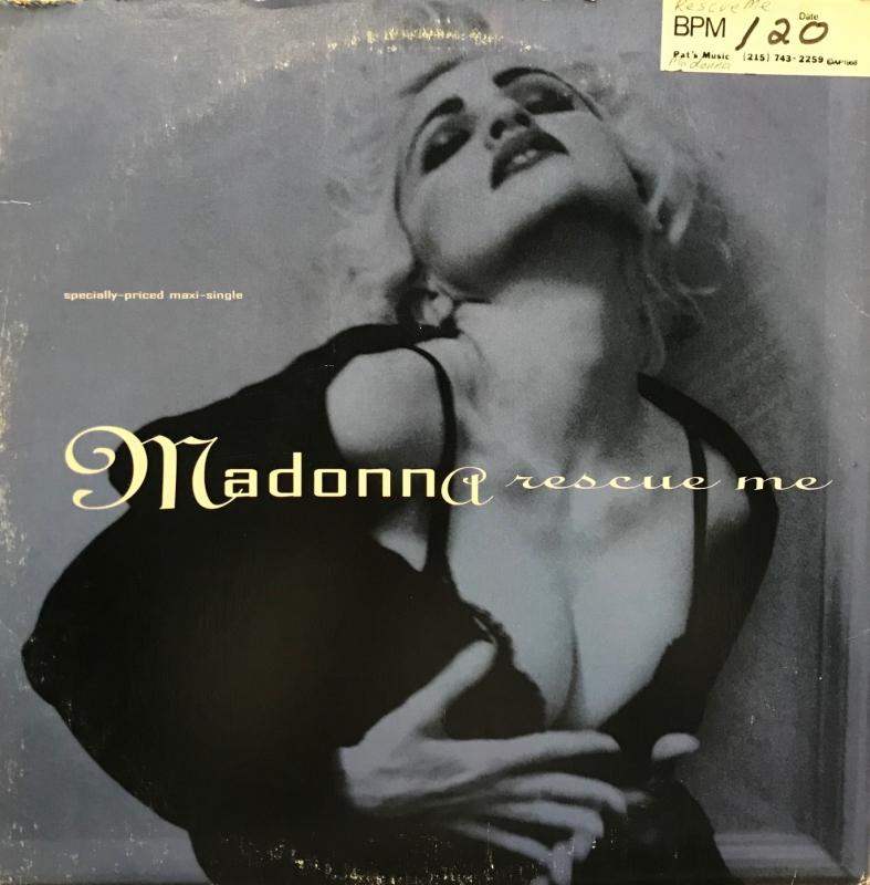 LP Madonna - Rescue Me VINYL IMPORTADO (semi novo)