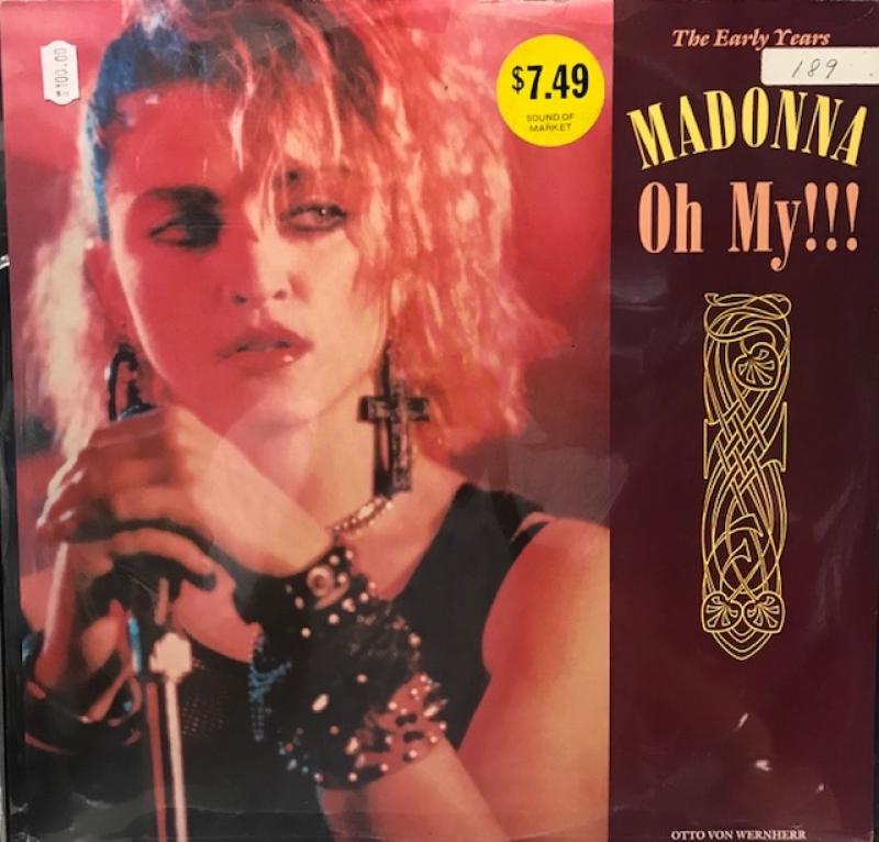 LP Madonna & Otto Von Wernherr - Oh My!!! VINYL IMPORTADO (SEMI NOVO)