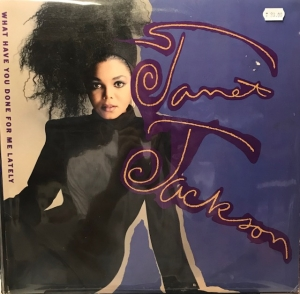 LP Janet Jackson - What Have You Done For Me Lately VINYL IMPORTADO (SEMI NOVO)
