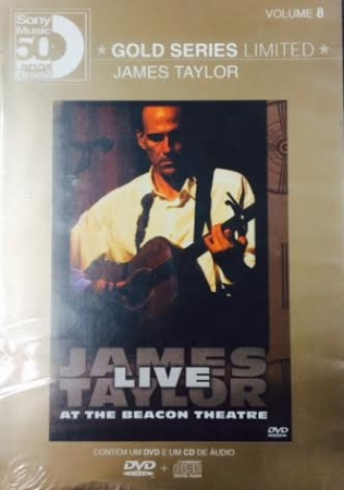 JAMES TAYLOR - Gold Series Live at the beacon DVD+CD