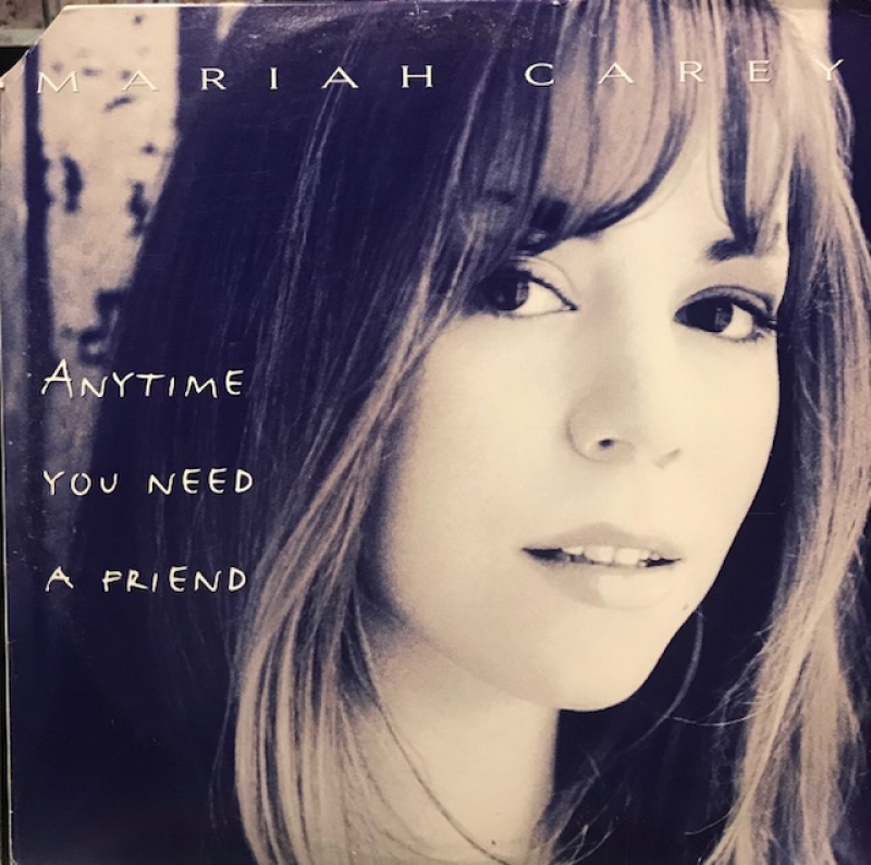 LP Mariah Carey - Anytime You Need A Friend VINYL DUPLO IMPORTADO (SEMI NOVO)