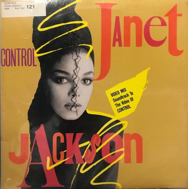 LP Janet Jackson - Control VINYL IMPORTADO (SEMI NOVO)