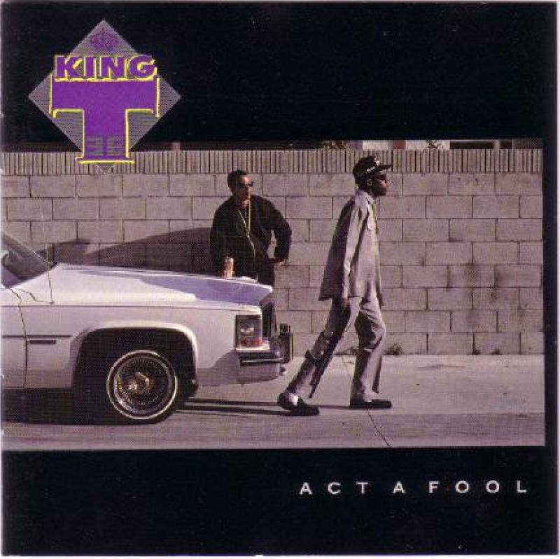 King Tee - Act A Fool CD (IMPORTADO LACRADO)