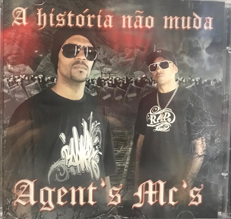 Agents Mcs - A historia nao muda (CD) RAP NACIONAL