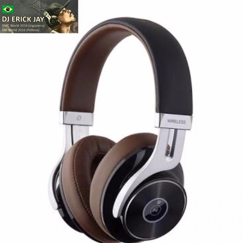 Fone De Ouvido - On Ear Bluetooth W855bt Preto Edifier Fone Dj Erick Jay