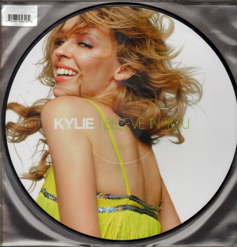 LP Kylie - I Believe In You VINYL (PICTURE)