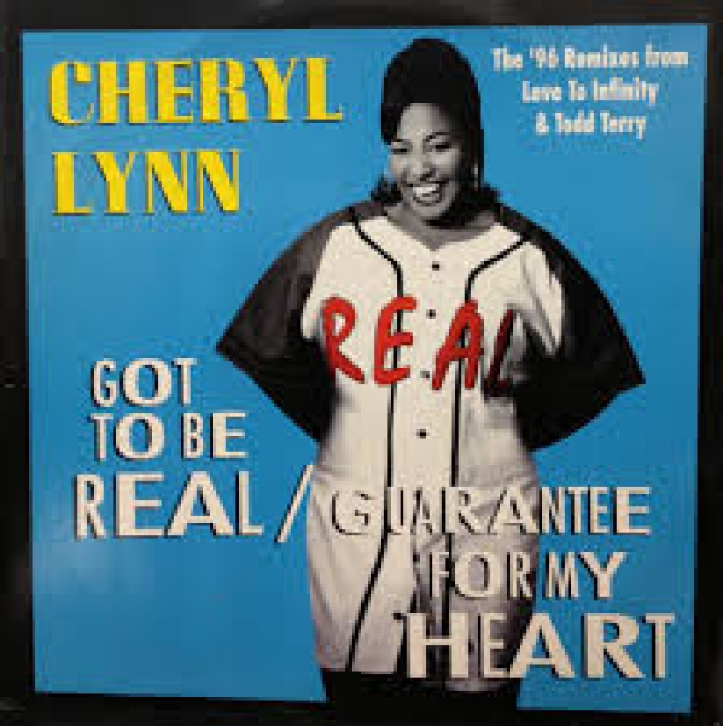 LP Cheryl Lynn - Got To Be Real - Guarantee For My Heart (VINYL)