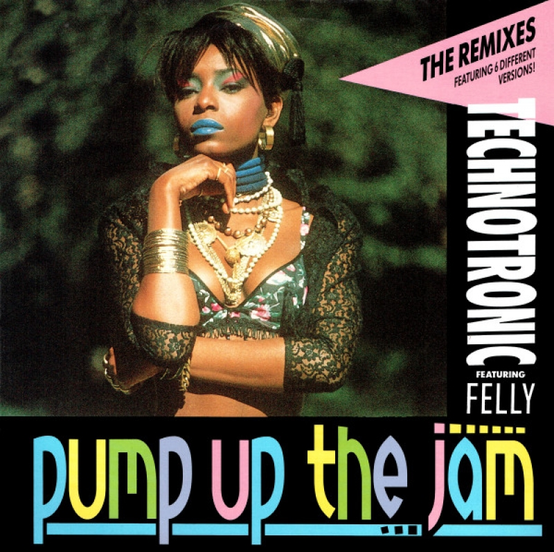 LP Technotronic Featuring Felly - Pump Up The Jam (The Remixes) (VINYL)