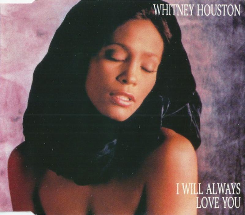 Whitney Houston - I Will Always Love You CD (SINGLE)