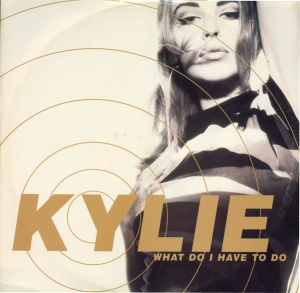 LP Kylie Minogue ‎- What Do I Have To Do VINYL (7 POLEGADAS)