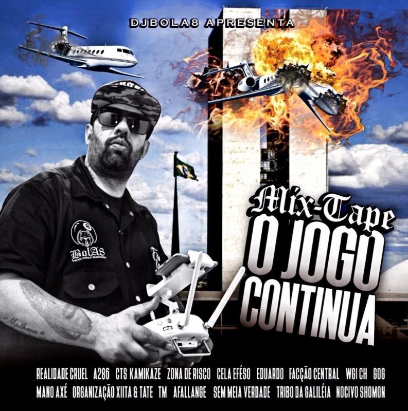 DJ BOLA 8 REALIDADE CRUEL - MIX-TAPE O JOGO CONTINUA (CD)