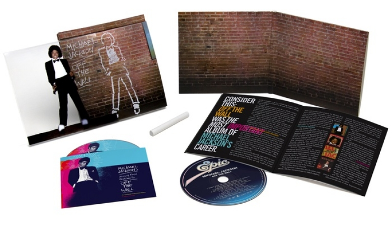 Michael Jackson - Off the Wall - Deluxe (CD Blu-ray) IMPORTADO