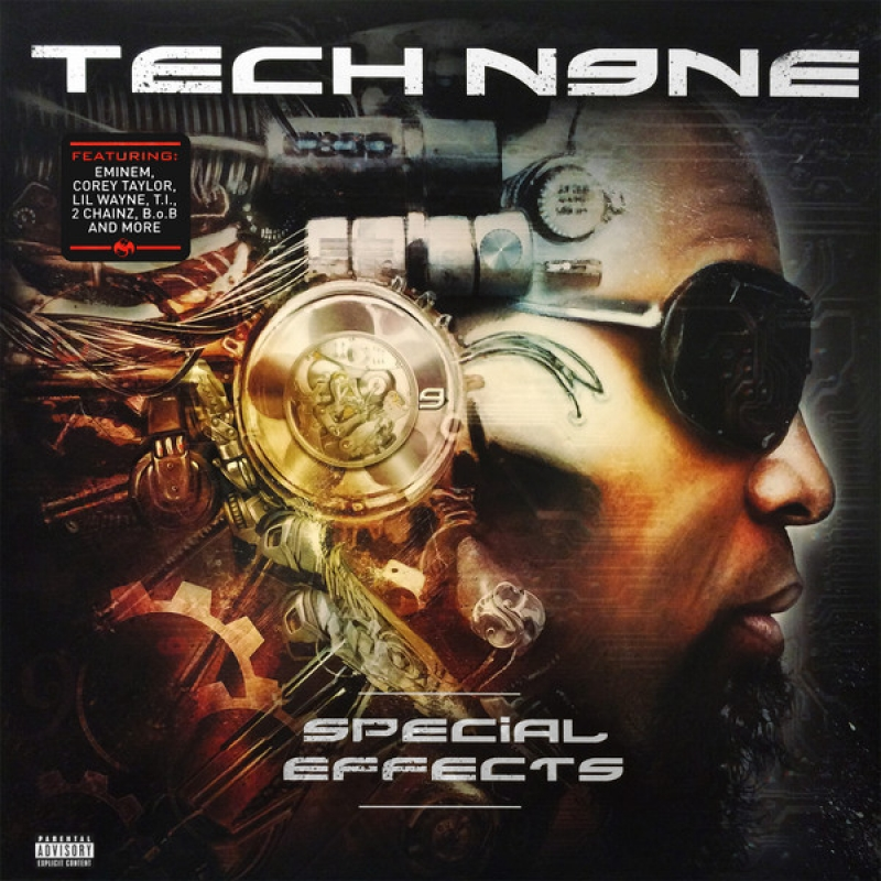 LP Tech N9ne - Special Effects VINYL DUPLO IMPORTADO LACRADO