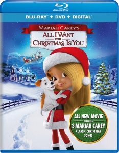 Mariah Carey - All I Want for Christmas Is You Blu-ray + DVD Importado