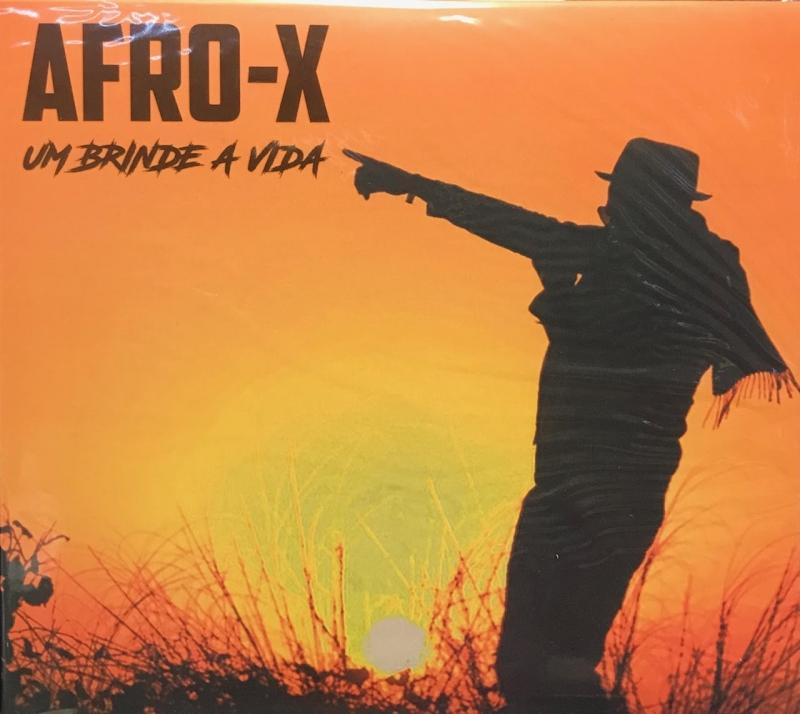 Afro X - Um Brinde A Vida (CD) RAP NACIONAL
