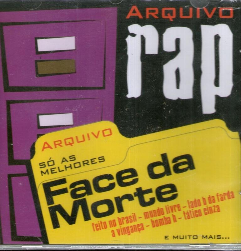 FACE DA MORTE - Arquivo Rap  (CD)