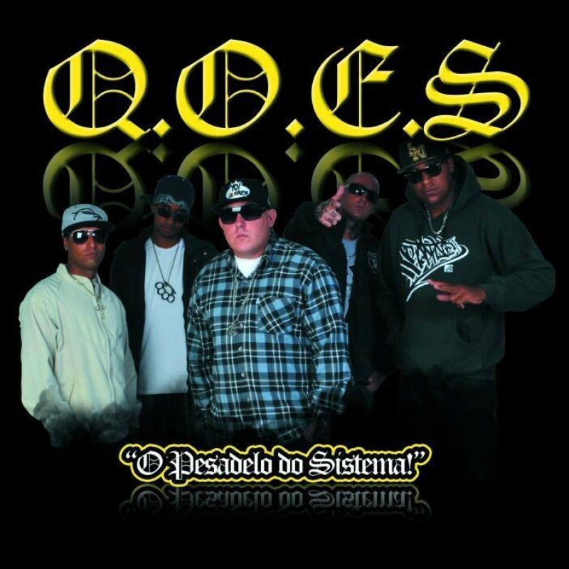 QOES - O Pesadelo do Sistema (CD) RAP NACIONAL (7892860245553)