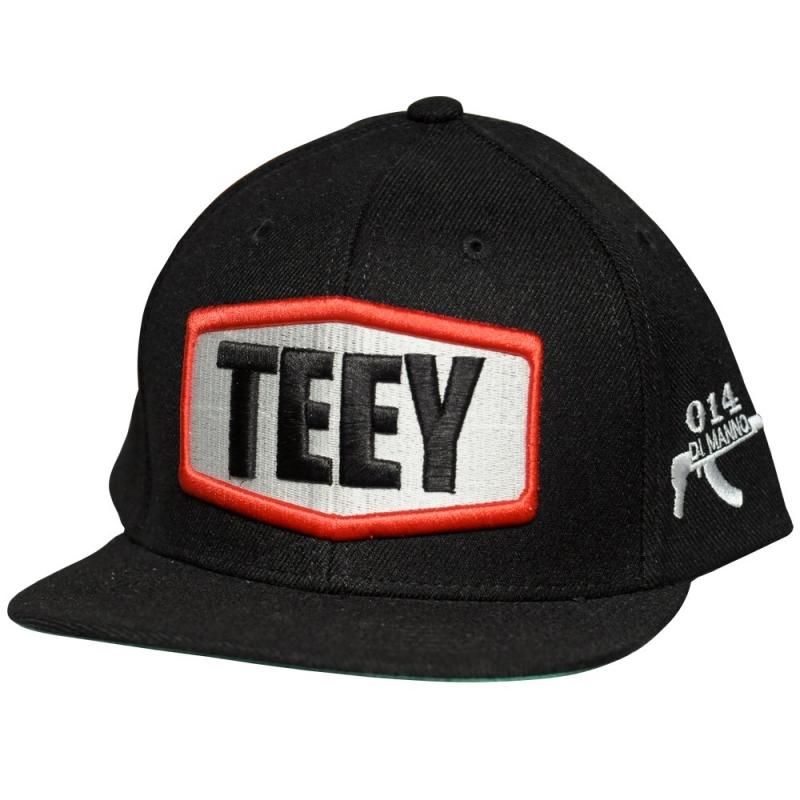 Bone Teey Original Preto Aba Reta (BIG DA GODOY)