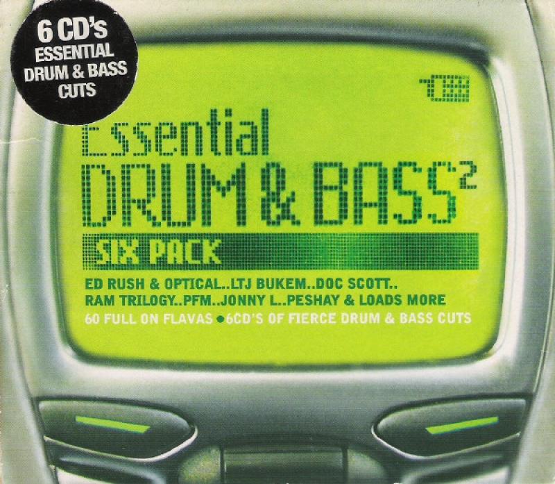 Essential Drum & Bass 2 - Various Artists (6 CDS)